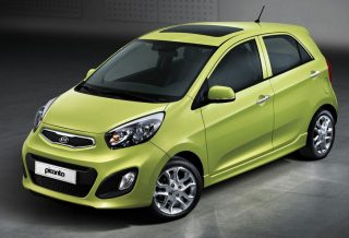 KIA PICANTO CITY 5D AUTO 1200CC | GROUP B